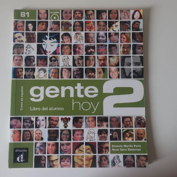 Livro de espanhol gente hoy 2 - libro del alumno + cd