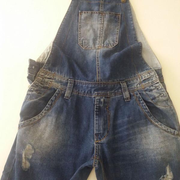 Macacão jeans sawary