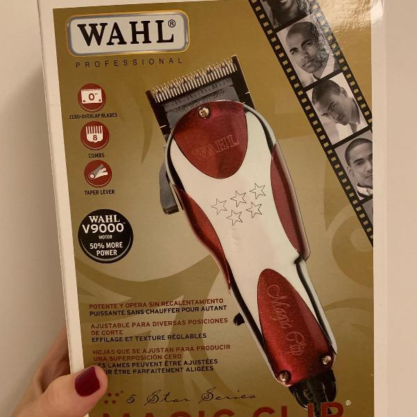 Maquina de corte barba e cabelo wahl