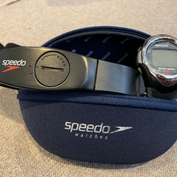 Monitor cardíaco speedo com cinta