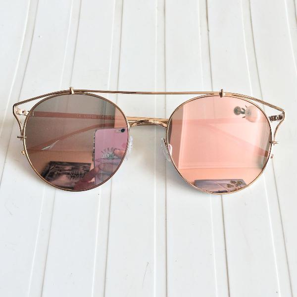 Oculos gatinho rosa