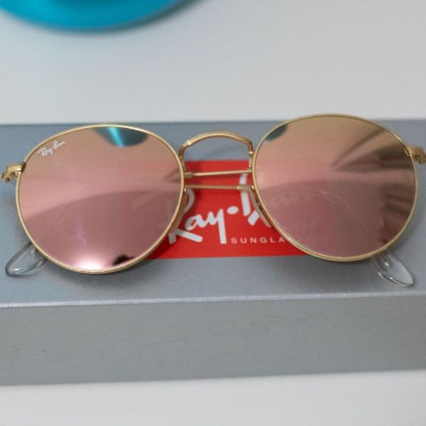 Oculos ray ban orginal rosa