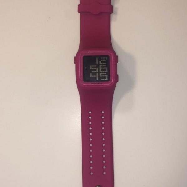Relógio converse rosa