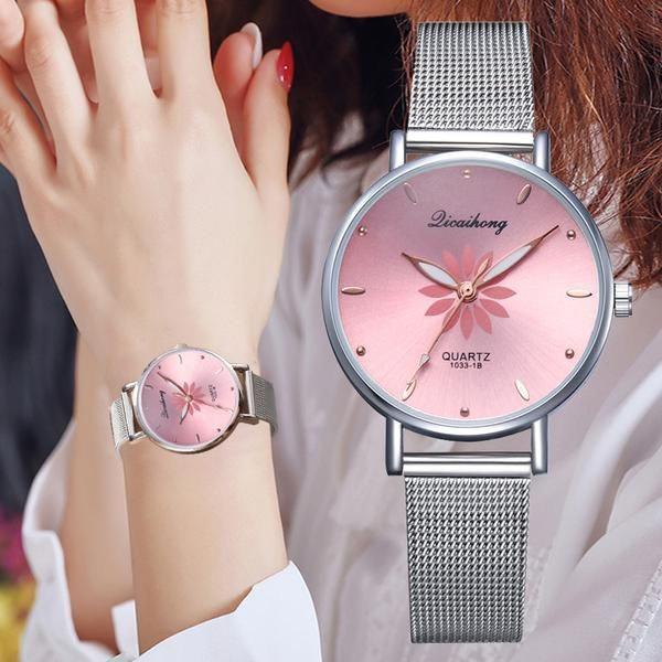 Relógio de pulso quartzo feminino - rel7