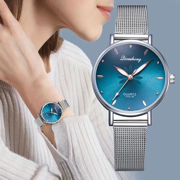 Relógio de pulso quartzo feminino - rel8
