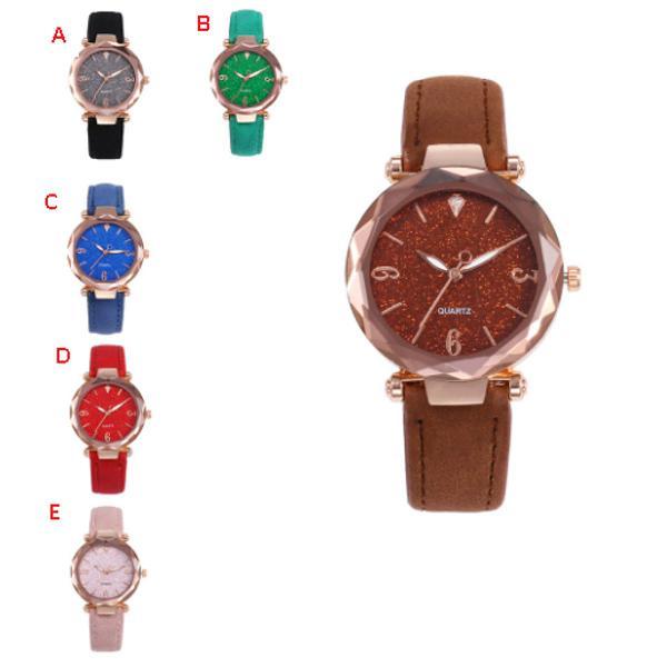 Relógio feminino pulseira luxo moda fashion + brinde