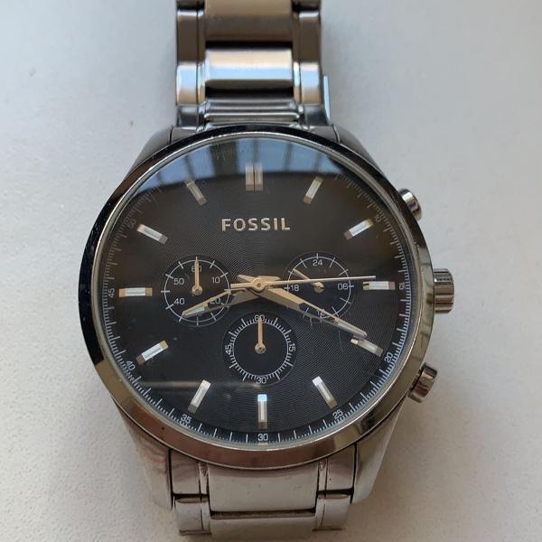 Relógio fóssil unissex