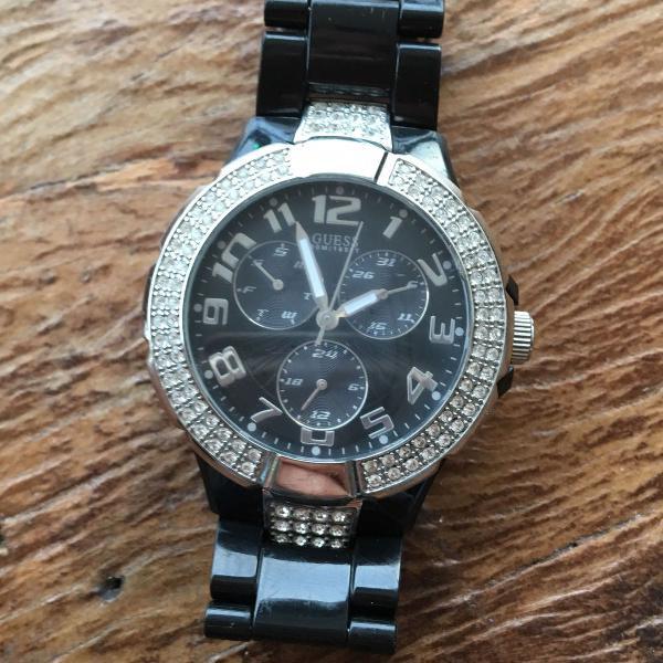 Relógio guess preto