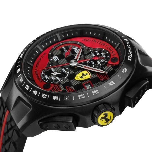 Relógio masculino ferrari - modelo 830077 a prova d água