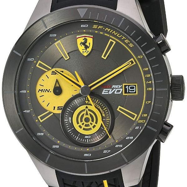 Relógio masculino ferrari modelo 830342 - novo e original