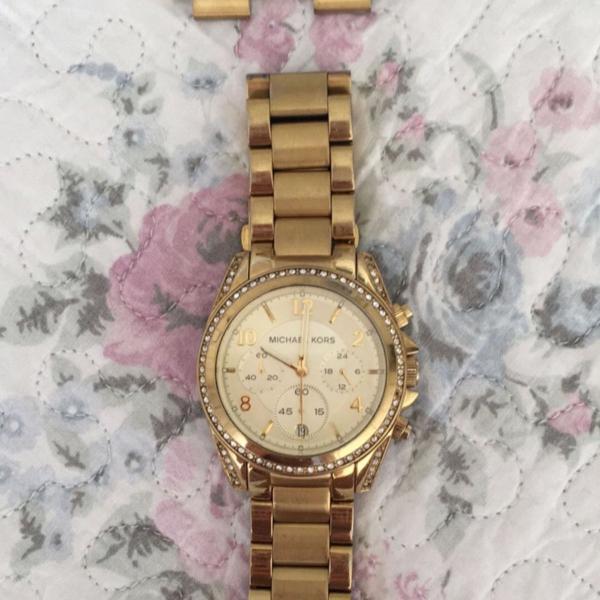 relógio michael kors dourado original