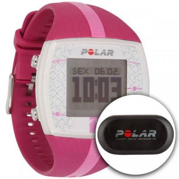 Relógio polar ft4 rosa pink