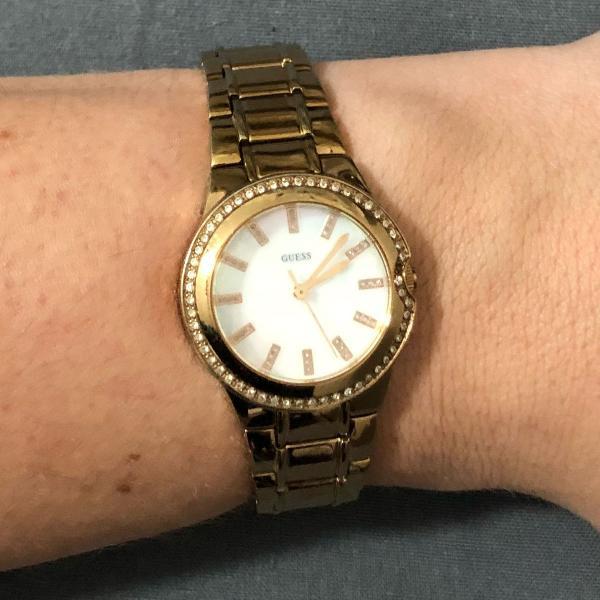 Relógio rose, guess! :)