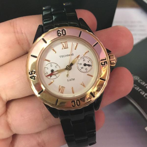 Relógio technos feminino modelo 6p25af