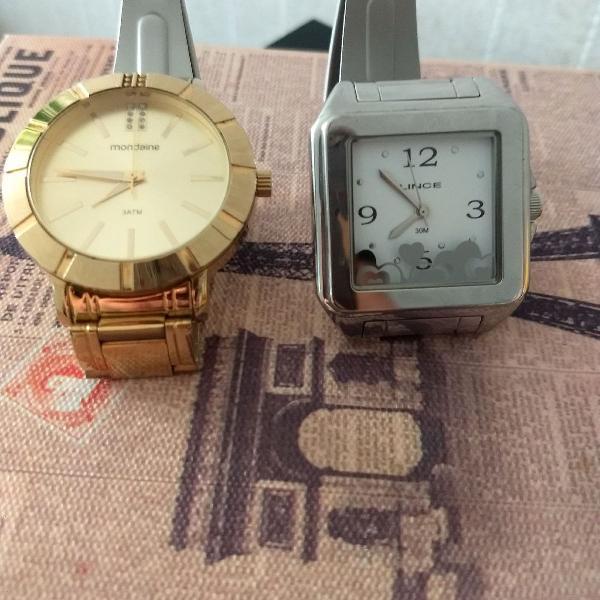 Relógios feminino.