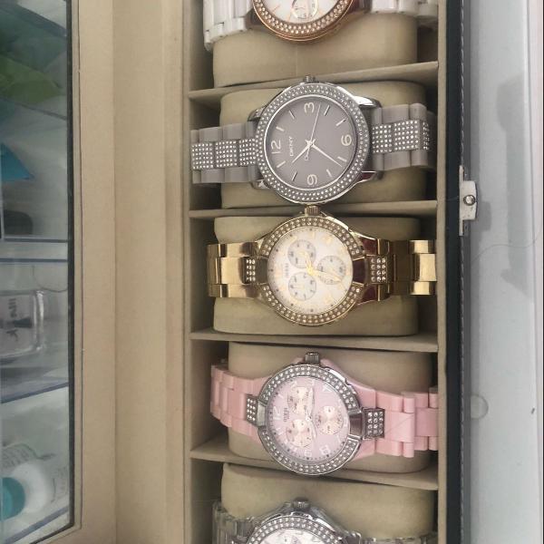 Relógios guess e dona karan