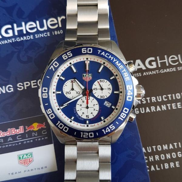 Relogio tag heuer formula 1 caz1018.ba0842 red bull racing