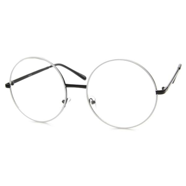 Rmação óculos redondo oversize - janis joplin - vintage