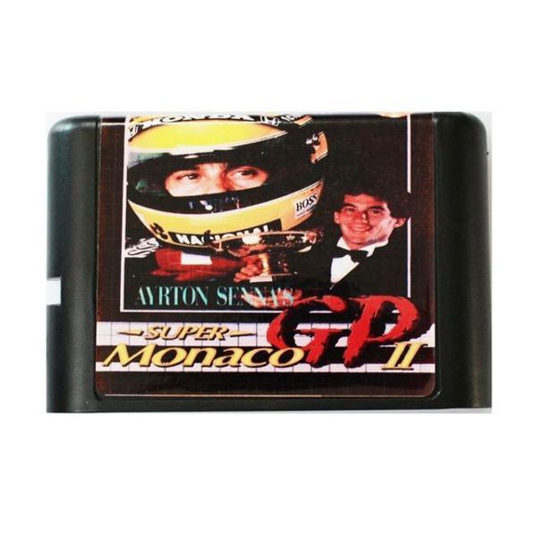 Super monaco gp ii pilotos ligas de 1991 mega drive genesis