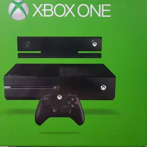 Xbox one+ kinect+ controle original com play and charge