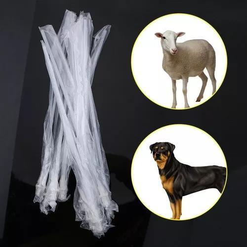 10 pçs / definir descartável canino cão ovelha ins