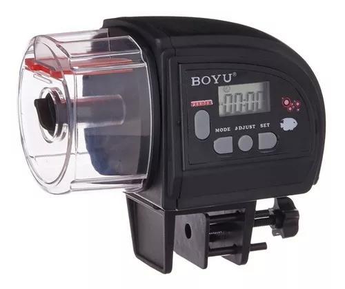 Alimentador automatico programavel aquario peixes boyu zw-66