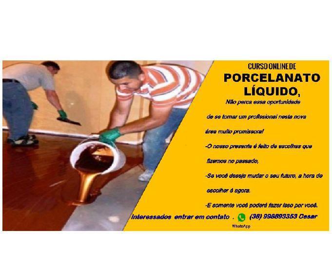 Curso online mestre do porcelanato liquido
