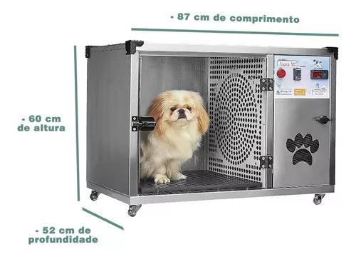 Máquina de secar cães saara turbo baby inox