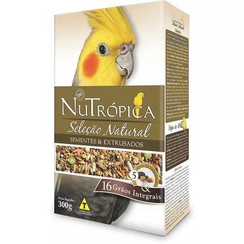 Ração nutrópica seleção natural calopsita - 300 g