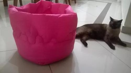 Três cama pets feita com tecido nylon próprio p pets