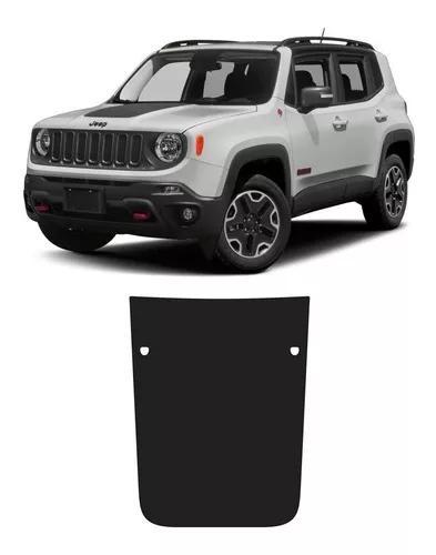 Adesivo preto fosco para capô jeep renegade