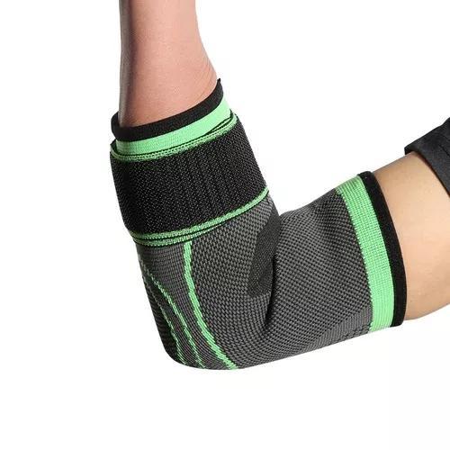 Cotovelo elástico almofada protetora respirável esportes