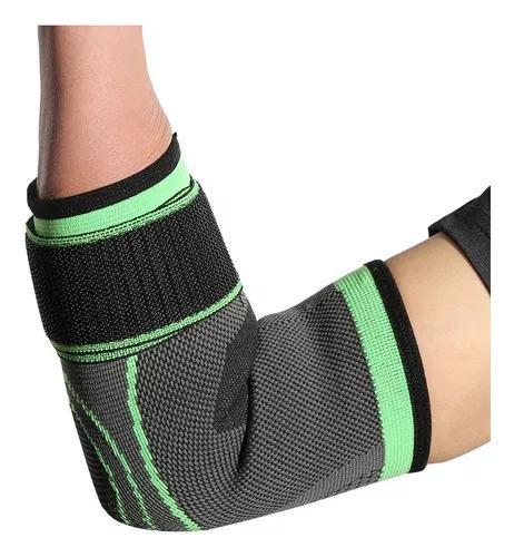 Cotovelo elástico protetor respirável esportes ajustável
