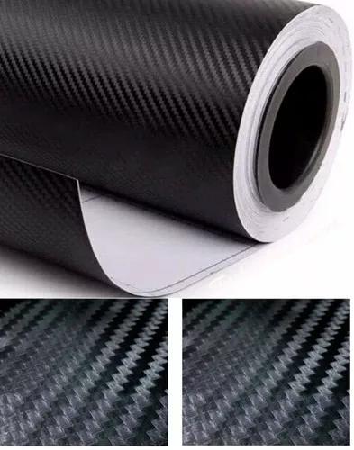 Envelopamento fibra carbono 3d original 5m x 50cm comtextura