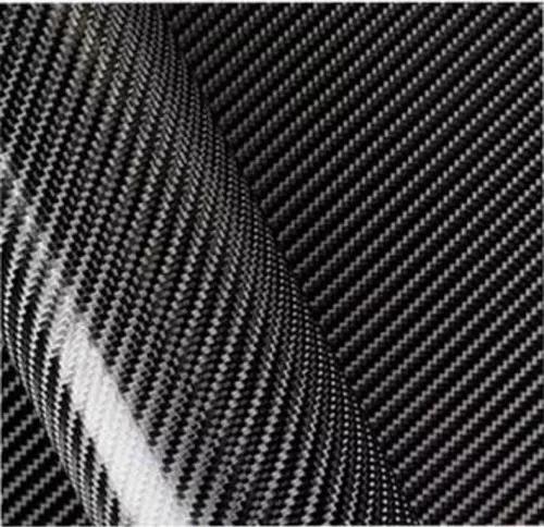 Envelopamento fibra de carbono 4d 1,50m x 50cm