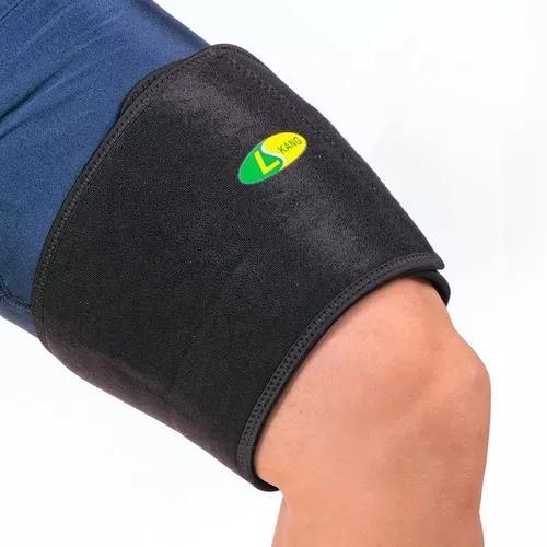 Esporte coxa guarda músculo cepa coxa protetor quente pads
