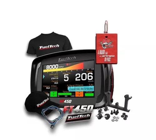 Fueltech ft450 com chicote 3m + ultra brinde+ 12x s