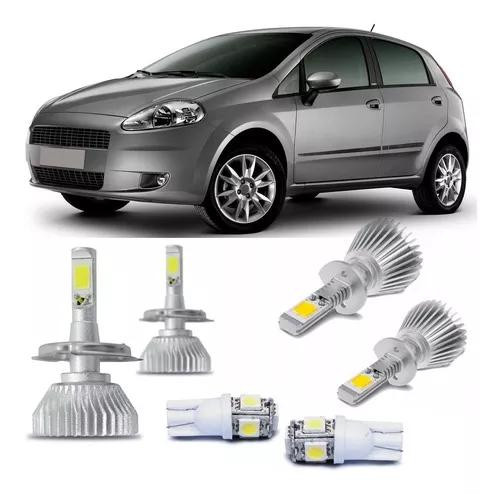 Kit lampada super led h4 h1 punto 08 09 10 11 12 pingo