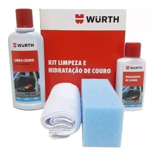 Kit limpeza e hidratação de couro - hidratante + limpa