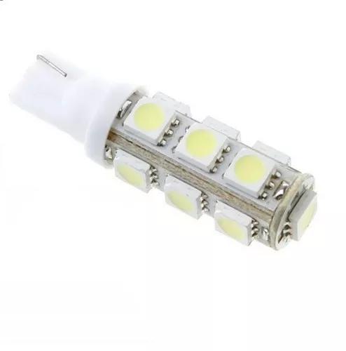 Lâmpada pingão t10 13 leds 5050 lanterna ré farol frete
