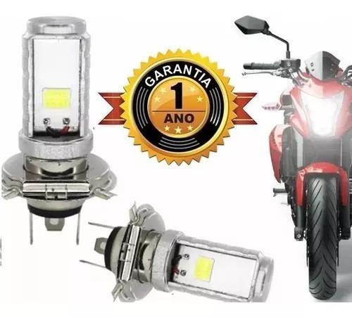 Lâmpada super led h4 6000k 35w universal moto cinoy