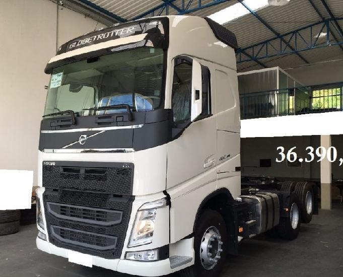Volvo fh 460 6x2 teto alto gabinado completo 201919 0km