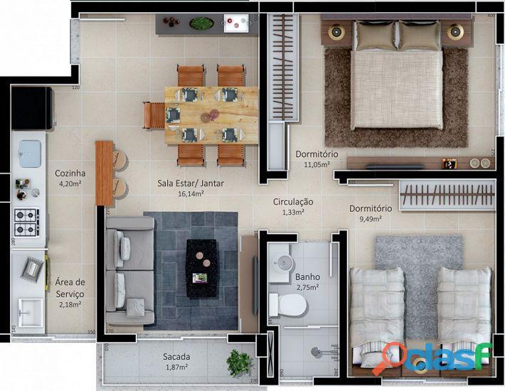 Vittoria bairro Ana Maria Criciúma apartamento a venda 1