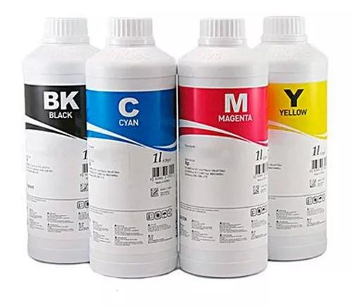 4 x 100 ml - tinta epson inktec original corante - bulk ink