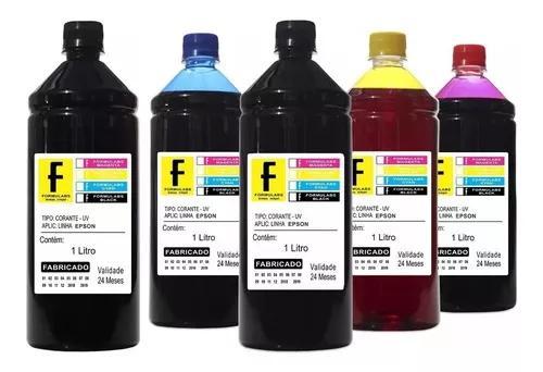 5 litros refil de tinta impressora l120 l220 l355 l455 l375