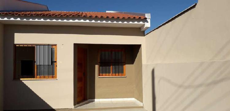 Casa com 2 quartos à venda, 56 m² por r$ 168.000 cod.