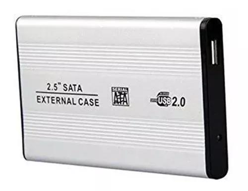 Case sata hd notebook 2.5 bolso usb 2.0 externa menor preço