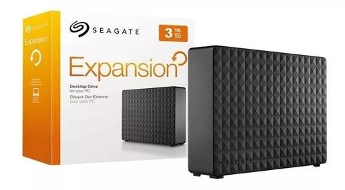 Hd externo 3tb seagate expansion usb 3.0