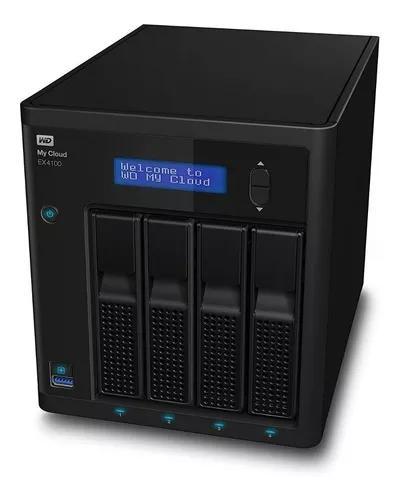 Hd externo servidor nas my cloud ex4100 4 bay s