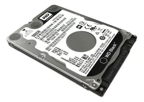 Hd notebook 500gb sata wester digital novo garantia wd black